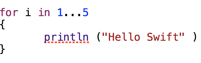 Hello Swift, Apple's New Programming Language
