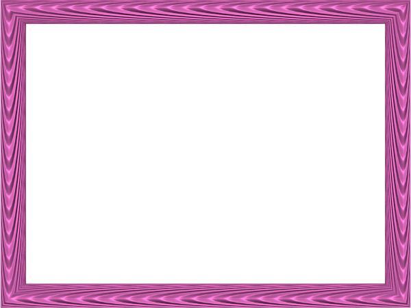 Elegant Fabric Fold Embossed Frame Border in Pink color, Rectangular perfect for Powerpoint