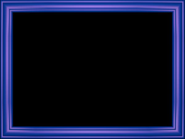 Elegant Embossed Frame Border in Indigo color, Rectangular perfect for Powerpoint
