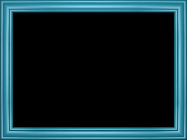 Elegant Embossed Frame Border in Light Blue color, Rectangular perfect for Powerpoint