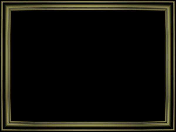 Elegant Embossed Frame Border in Shiny Black color, Rectangular perfect for Powerpoint
