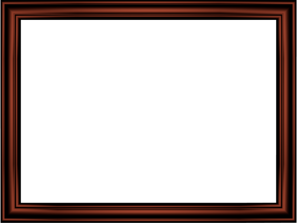 Elegant Embossed Frame Border in Shiny Metallic color, Rectangular perfect for Powerpoint