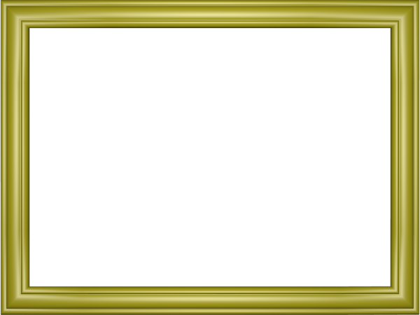Elegant Embossed Frame Border in Yellow color, Rectangular perfect for Powerpoint