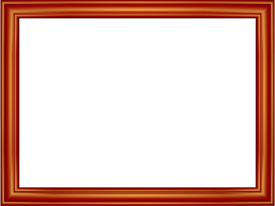 Elegant Embossed Frame Border in Red color, Rectangular perfect for Powerpoint