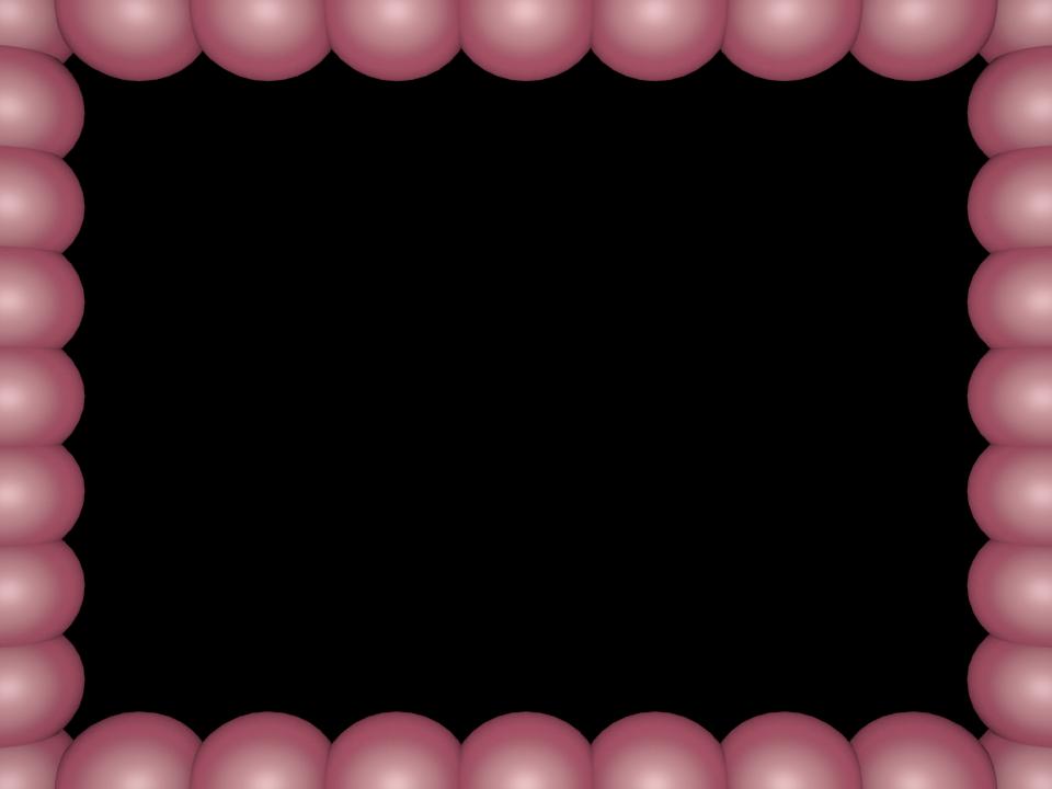 Bubbles Border pink